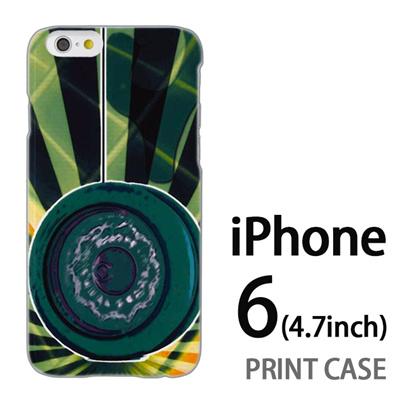 iPhone6 (4.7インチ) 用『No1 Y_ヨーヨー 緑』特殊印刷ケース【 iphone6 iphone アイフォン アイフォン6 au docomo softbank Apple ケース プリント カバー スマホケース スマホカバー 】の画像