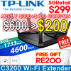 [TP-LINK] Archer C3200 Wireless Tri-Band Gigabit Router l 3200Mbps l Beamfoming
