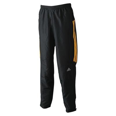 ◆即納◆アディダス(adidas) RSP ウインドパンツ AMU69 M63016 BLK/ソーラーGLD 【ランニング トレーニングウェア ジョギング メンズ ボトムス】の画像