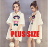 【28/5 PROMO】2017 New Summer Plus Size Collection /Dress /Blouse/ Skirt/Midi Skirts /T-Shirts