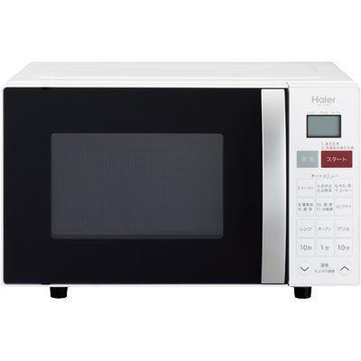 ハイアール重量センサー搭載。ワンタッチ自動あたためができるオーブンレンジ(ホワイト)JM-V16C-W