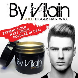 TIME SALE SPECIAL ★ All NEW ByVilain Powermade ★ [Popular in USA] ByVilain Gold Digger Hair Wax