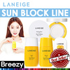 BREEZY ★ [Laneige] Sun Care Line / Sun Block/Sun Fluid / Sun Block Aqua / Marshmallow Sun Cushion