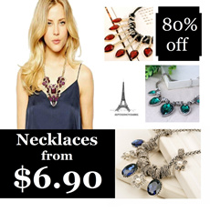 Designer Necklaces from $6.90*** Fashionista/Glamorous/Vintage/Ethic/Tribal/Punk Designs In Rhinestones/Crystal/Acrylics