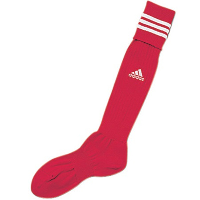 アディダス(adidas) 3ストライプ ゲームソックス TR616 トロ/WHT 【サッカーソックス ストッキング ウェア 靴下】の画像