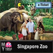 【MY TRIP】Singapore Zoo E-Ticket (Admission + Tram Ride) 新加坡动物园电子票 (包含游园车)