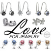 LOVE FOR JEWELRY - EARRINGS COLLECTION - WEEKLY PROMOTION  (CRYSTALS FROM SWAROVSKI)