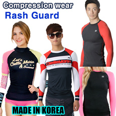 2015 NEW ARRIVAL under layer. compression wear RASH GUARD, SUFFING Fitness