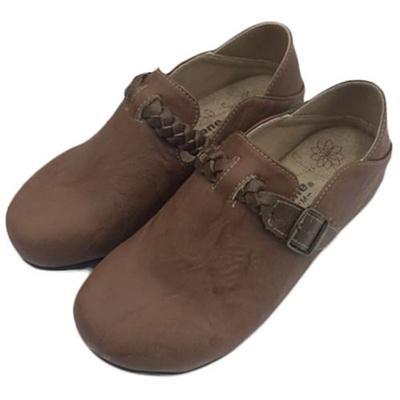 ペニーレイン(PENNY LANE) レディース サンダル サボ ヘップ ブラウン 1305 【靴 シューズ スリッポン コンフォート】の画像