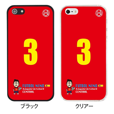 【スペイン】【iPhone5S】【iPhone5】【サッカー】【iPhone5ケース】【カバー】【スマホケース】 ip5-10-f-sp04の画像