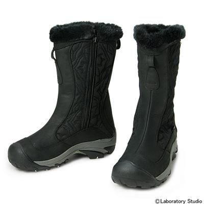 キーン (KEEN) Women Betty Boot II(ウイメンズ ベティ ブーツ II)Black×Misty Jade 1009583 [分類:アウトドア ブーツ・長靴 (レディース)] 送料無料の画像