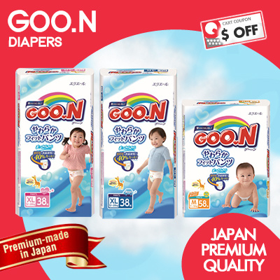 [GOO.N] ?AUTHENTIC STOCKS!?Japan Premium Diapers! FREE SHIPPING Deals for only S$80.7 instead of S$0