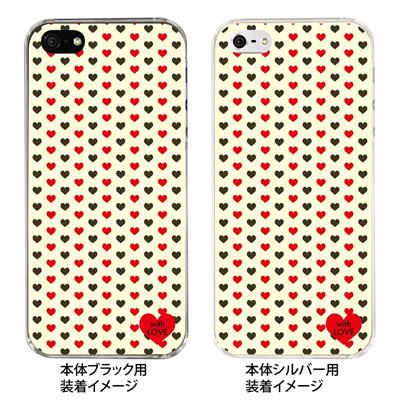 【iPhone5S】【iPhone5】【Clear Fashion】【iPhone5ケース】【カバー】【スマホケース】【クリアケース】【with LOVE】 ip5-09-wl0003の画像