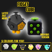 ❋First 188 sets at $6.99❋FIDGET CUBE ORIGINAL❋FIDGET SPACE BALL❋HELPS CONCENTRATION❋