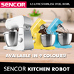 MUST HAVE KITCHEN ITEM! Sencor Food Processor / Available in 9 Colours
