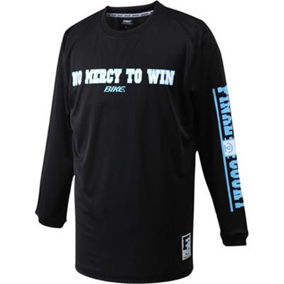 バイク(BIKE)ロングTシャツ(ノーマーシー)BKC3317ブラック×ホワイト【バスケトレーニングウェア長袖ロンT】