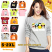 ☆(New Update) ◆Cute Character T-Shirts for Women◆Simple Casual Daily Shirts/ Top-40 designs