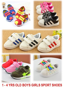 [ORTE] I Sale★1-4 Yrs Old Baby Kids Girls Boys Sports Shoe★Sneakers★Jelly Shoes★Fast Delivery