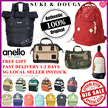 【SG DISTRIBUTOR Buy2FreeShipping】100% AUTHENTIC ANELLO BACKPACK 💕LOWEST PRICE💕TRAVEL BAG TOTE BAG