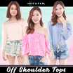 ★ Off Shoulder ★ Off Shoulder Tops | Casual Tops | Long Sleeve | Lace Tops | Ruffled Off Shoulder To