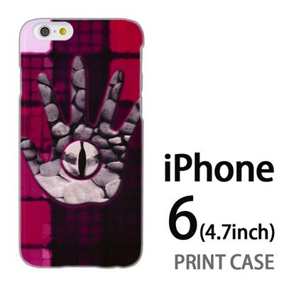 iPhone6 (4.7インチ) 用『No2 6』特殊印刷ケース【 iphone6 iphone アイフォン アイフォン6 au docomo softbank Apple ケース プリント カバー スマホケース スマホカバー 】の画像