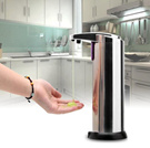 Stainless Steel Automatic Sensor Touchless Soap Dispenser Innovative Liquid Lotion Dispenser Infrared Bathroom Accessories New