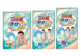 GOO.N Aromagic Pants 4 Packs Deal-MIX SIZES! Bundle Add-on GOO.N Swim Pants/ Baby Wipes!