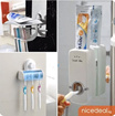 [Sindeal]Toothbrush Holder / Toothpaste dispenser Touch me / SQ1937 / 1018/ 1927/ 5029/ 1917/ 1395