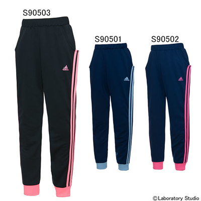 アディダス (adidas) GIRLS adidasjewel ジャージ パンツ KAU27 [分類:ジャージ 下 (ジュニア)]の画像