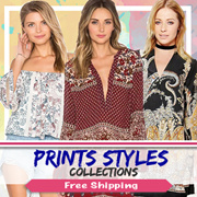 [20 Mar New Arrivals] Prints Collection [S-XL] Dress. Blouse. Tops. Bottoms