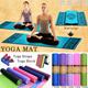 2015 New Yoga Mat / Yoga Towel / Yoga Block / Yoga Straps / Exercise Fitness Mat / Training Belt / EVA Yoga Brick / Yoga Ball / Microfiber / Gymnastics / Free mesh bag / High quality and Best Price!