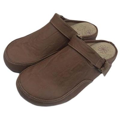 ペニーレイン(PENNY LANE) レディース サンダル サボ ヘップ ブラウン 2006 【靴 シューズ スリッポン コンフォート】の画像