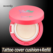 【Secret Key HQ Direct Operation】Tattoo Cover Cushion_15g/Full cover on skin/Whitening+UV blocking