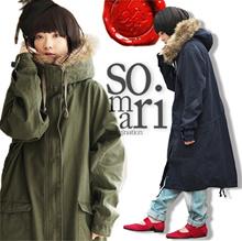 絶対欲しい理想のコート。『somariフェイクファードルマンロングモッズコート』'