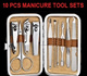 Manicure Pedicure Facial Tools Set*Hard DAIMER Casing Box* Hello Kitty Design Casing*Various Nail Cutters* Sharp Scissors*Eye Brow Groomer*Dead Skin Remover*Ear Cleaner*Nail Buffer*Travel Size Kit*