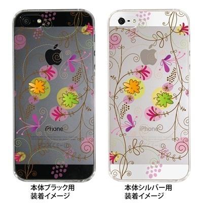 【iPhone5S】【iPhone5】【Clear Fashion】【iPhone5ケース】【カバー】【スマホケース】【クリアケース】【フラワー】 22-ip5-ca0029の画像