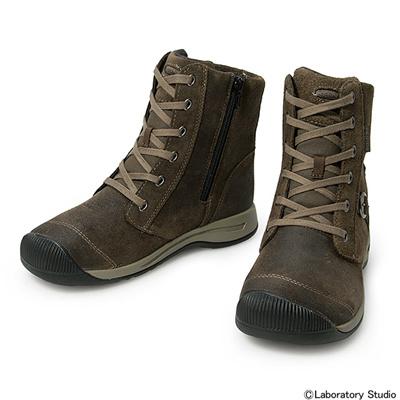キーン (KEEN) WOMEN Reisen Zip WP(ウィメン レイゼン ジップ ウォータープルーフ)Cascade Brown 1013763 [分類:アウトドア ブーツ・長靴 (レディース)] 送料無料の画像