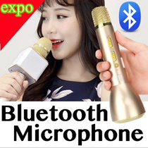 ★ SG WARRANTY ★ SUPER-HOT SELLING !! Wireless Bluetooth Karaoke Microphone | K068 K088 Q7 For iOS Android | KTV PLAYER | Bluetooth Speaker