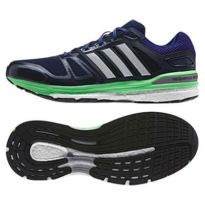 ◆即納◆アディダス(adidas) Snova Sequence boost 4E B34089 COLNVY/SLVメット 【ランニング 陸上競技 メンズ ランニングシューズ】の画像