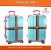 4.2M Luggage Bag Cross Strap / Protects Luggage from Accidental Opening/Traveling gadget