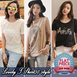 ★FREE SHIPPING★All Flat Price[Lovelovin] 2015 New Short Top 88% OFF - FAST SHIPPING★ Plus size Free~XL women fashion women clothing GREAT DEALS!