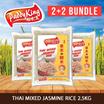 (2+2 BUNDLE) PADDY KING Thai Mixed Jasmine Rice 2.5Kg