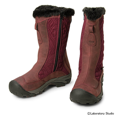 キーン (KEEN) WOMEN Betty Boot II(ウィーメン ベティー ブーツ ツー)Zinfandel×Magnet 1013234 [分類:アウトドア ブーツ・長靴 (レディース)] 送料無料の画像