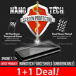 Nanotech Tempered Glass Screen Protector/iPhone 7/7 Plus/6/5/Samsung Galaxy Note 5/4/S7edge/Redmi