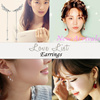 Lovelist/ Korean Styles Fashion Accessories Earrings /925 silverpost /Silver / Pearl / Birthday Gift