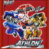 TOBOT  Athlon Mini Pop Alpha Transformers / 3 year / car ↔ Robot / Configuration: alpha stage racing track New