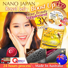 [$6 CASH REBATE* IN THIS CELEBRATION!!!] (^^D/ DARKER HAIR ♥FREE 5-days* MORE!!  ★HIGH DOSAGE 10-HDA ♥SG #1 BEST-SELLING ROYAL JELLY!! ★ ORGANIC-CERTIFIED ♥Made In Australia