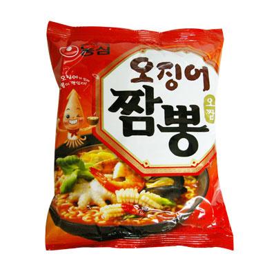 【韓国食品・韓国ラーメン】 ■韓国のオジンオちゃんぽんラーメン(辛さ1)■の画像