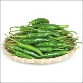 【韓国食品・韓国野菜】■激辛青唐辛子(300g)生野菜■の画像
