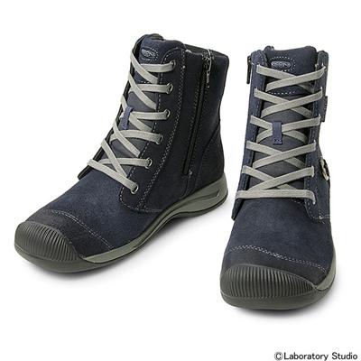 キーン (KEEN) WOMEN Reisen Zip WP(ウィメン レイゼン ジップ ウォータープルーフ)Dress Blues 1013764 [分類:アウトドア ブーツ・長靴 (レディース)] 送料無料の画像